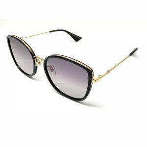 Gucci Women's Black Gold Authentic Sunglasses!